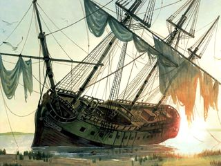 Queen-anne's-revenge-sinking